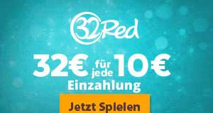 32€ Bonus in 32Red