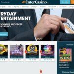 InterCasino Bildschirmfoto