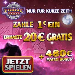 20€ in online Casino